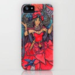 Pomba Gira iPhone Case