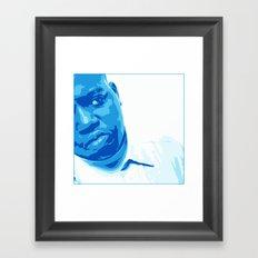 Notorious Framed Art Print