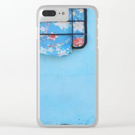 38. Trouble Blue, Cuba Clear iPhone Case