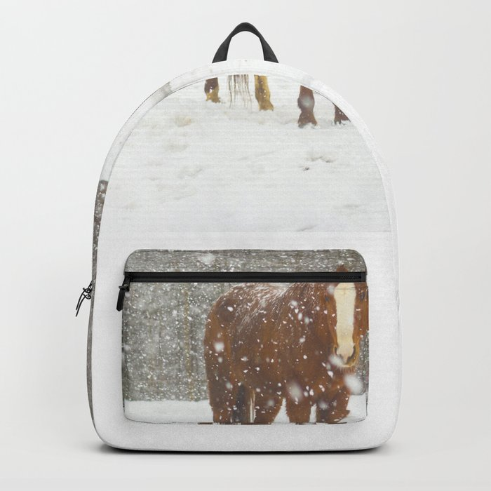Western Winter Wonderland Backpack