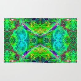 Techno Electric III (Ultraviolet) Rug