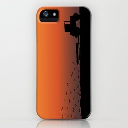 Ploughing the Field iPhone Case