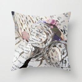 Emil and La Vie En Rose II Throw Pillow