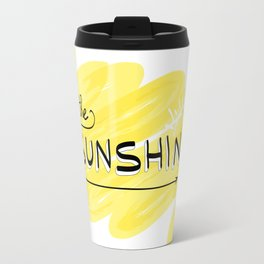 Let The Sunshine In Travel Mug