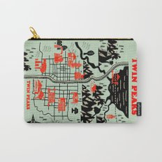 Twin Peaks Map Carry-All Pouch