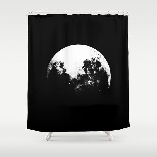 MOOON Shower Curtain