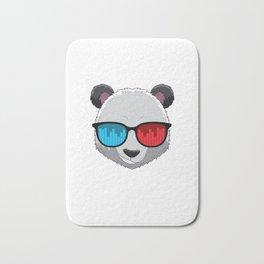Party Animal DJ Pandas Music Party Beat Sunglasses Bath Mat
