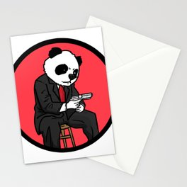 Mafia gangster gift robber Cosa Nostra Stationery Cards