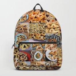 Hamantaschen Montage Backpack