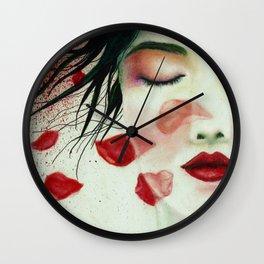 Head Wounds Wall Clock