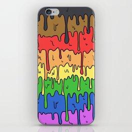 Cute Pride Pastel Melting Pride Design, 2018 pride flag iPhone Skin