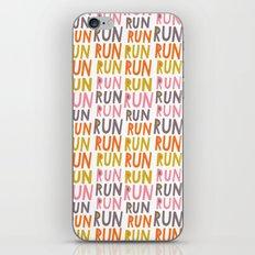 Pattern Project #19 / Run Run Run iPhone & iPod Skin