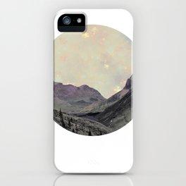 Alps Wanderer iPhone Case
