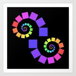 experiments on Lindenmayer Systems -01- Art Print