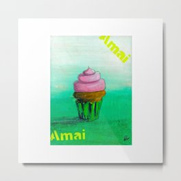 Amai Metal Print