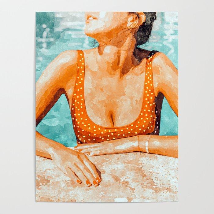 Mi Bebida Por Favor #painting #summer Poster