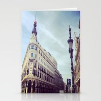 madrid Stationery Cards featuring Madrid by Theresia Pauls