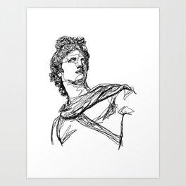 Apollo Greek God Art Print