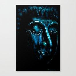 Buddha Face one Canvas Print
