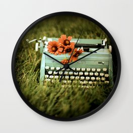 Loveletters Wall Clock