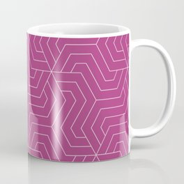 Maximum red purple - violet - Modern Vector Seamless Pattern Coffee Mug
