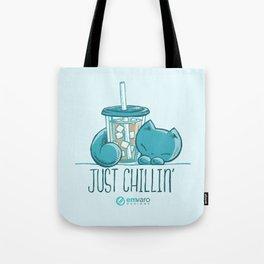 Skribbles: Just chillin' Tote Bag