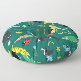 Lawn Party Floor Pillow