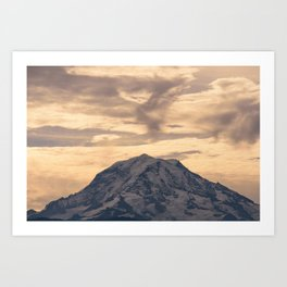 Rainier From a Bonney Lake Art Print