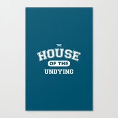 It's the House of the Undying. Canvas Print
