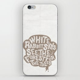 See the Forrest for the Trees iPhone Skin