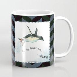 Penguin Makes a Splash Coffee Mug