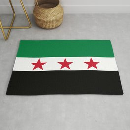 Syrian Independence Flag of Syria Rug