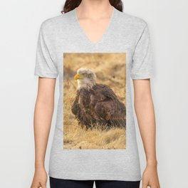 Bald Eagle Unisex V-Neck