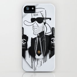 FOREVER KARL iPhone Case
