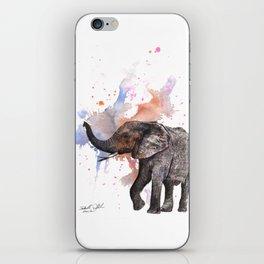 Dancing Elephant Painting iPhone Skin