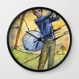 Golfer 1 Wall Clock