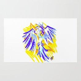 Blue Phoenix Rug