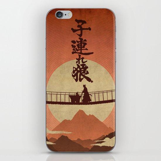 Kozure Okami iPhone Skin