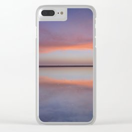 """""""Purple reflections at the sea"""". Bolonia Clear iPhone Case"""