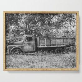Farm Truck, Arena, North Dakota 3 Serving Tray