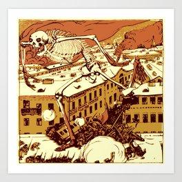 Bugaboo of Revolution Art Print