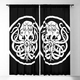 Cthulhu Symbol Blackout Curtain