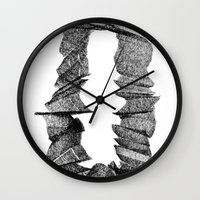 portal Wall Clocks featuring Portal by JOSEPH KARWACKI