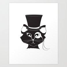 The Cat's Meow Art Print