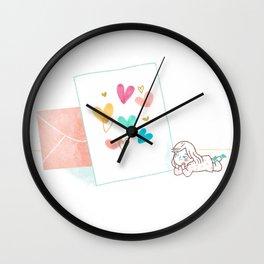Love Card Wall Clock