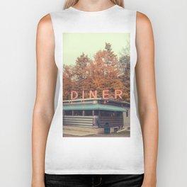 DINER in the fall Biker Tank