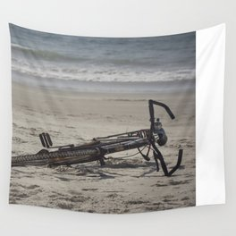 Lost Bicycle Wall Tapestry
