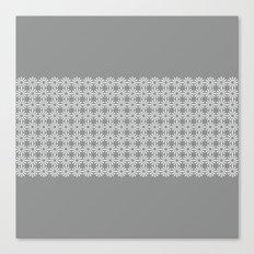 pahulje (gray) Canvas Print