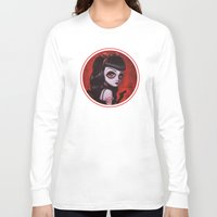 tina Long Sleeve T-shirts featuring 7-Tina by Dienzo Art