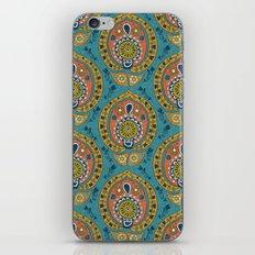 safa blue iPhone & iPod Skin